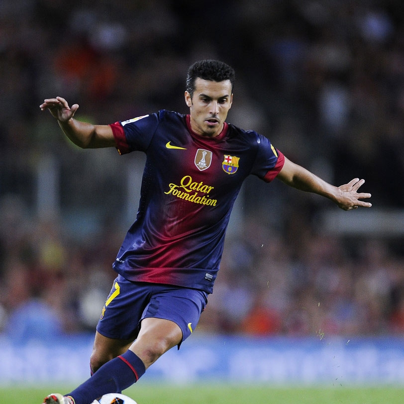 Barcelona's Pedro sidelined for 10 days with leg injury