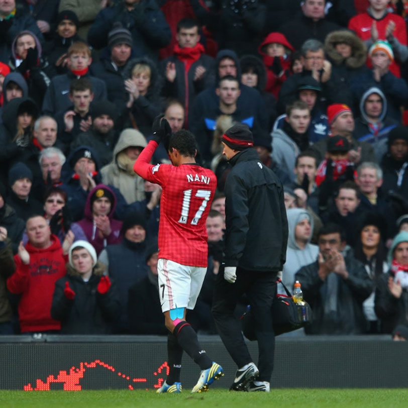 Nani gets one-game ban after Real red